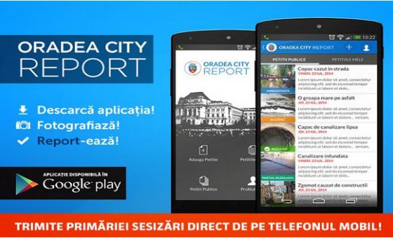 Petitii, sesizari si reclamatii printr-o aplicatie Android