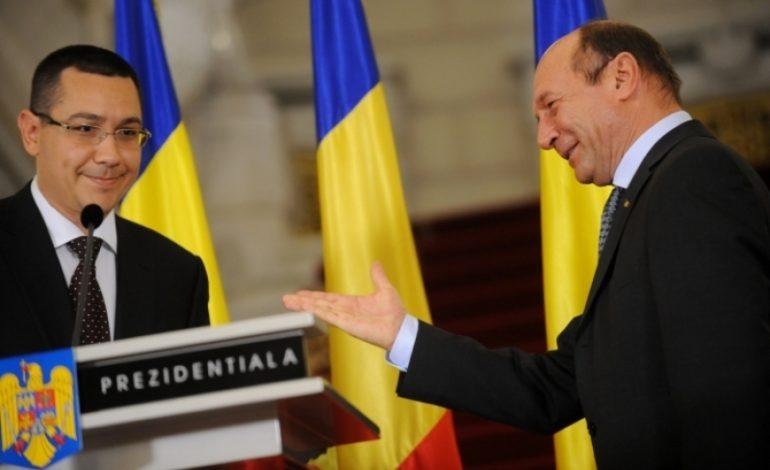 Traian Băsescu îl toacă pe Ponta pe tema bugetului