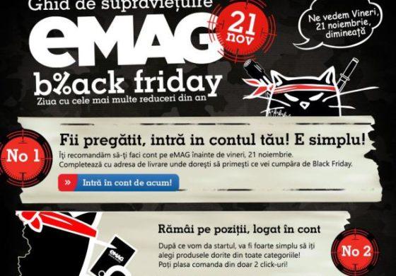 La ce ora incep cumparaturile la eMAG Black Friday 2014?