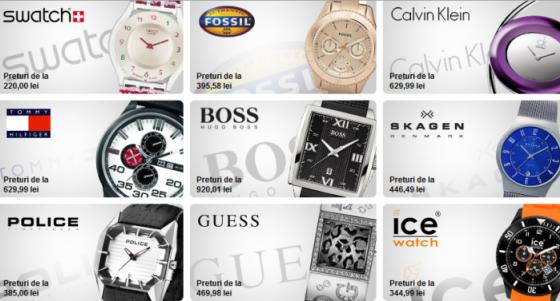 De unde îţi poţi cumpăra un ceas cu reducere de 90%
