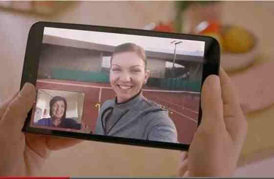 VIDEO: Simona Halep apare in noua reclama Vodafone