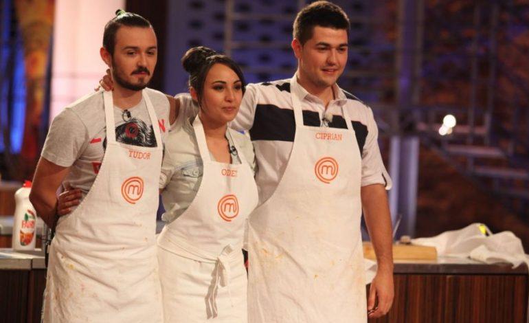 Competitia MasterChef si-a ales finalistii: Ciprian, Odette si Tudor!