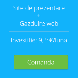Afacerea ta are nevoie de un site de prezentare