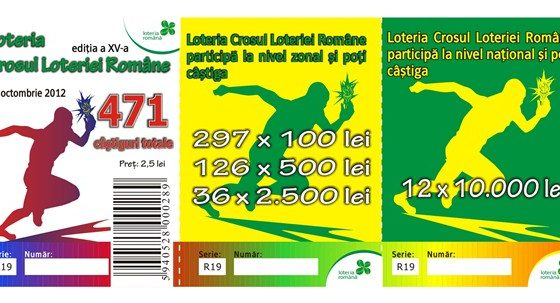 Loteria Romana lanseaza pe piata biletele de loterie pasiva