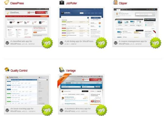 "TOP Premium WordPress ""Application"" Themes"