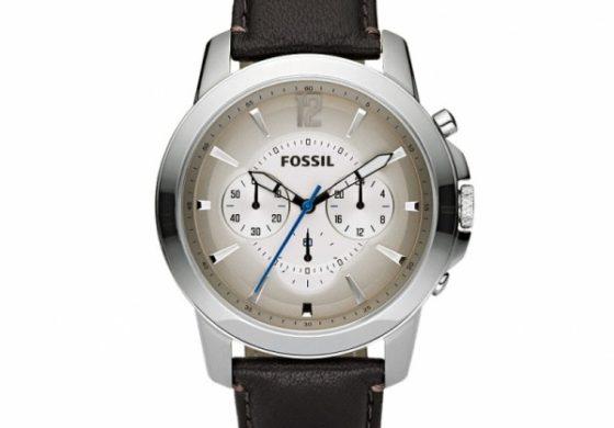 Ceasuri: Fossil Brown Leather