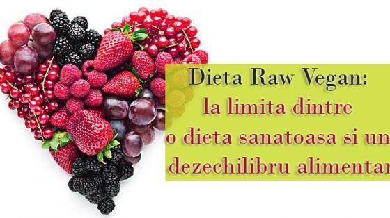 Dieta Raw Vegan: la limita dintre o dieta sanatoasa si un dezechilibru alimentar
