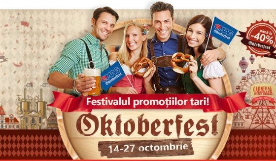 A inceput eMAG Oktoberfest, festivalul promotiilor tari!