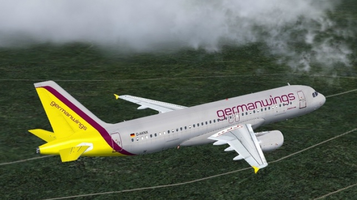 Avion prabusit in Franta. Toti cei 150 de oameni de la bord au murit