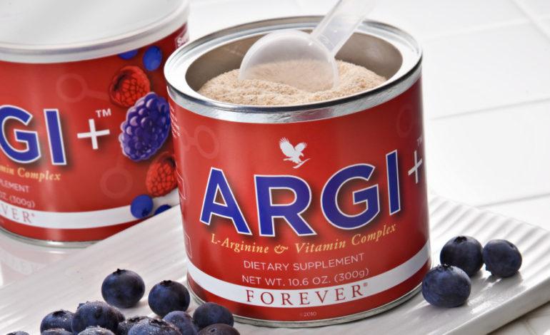 FOREVER ARGI+ Suplimentul alimentar COMPLET!