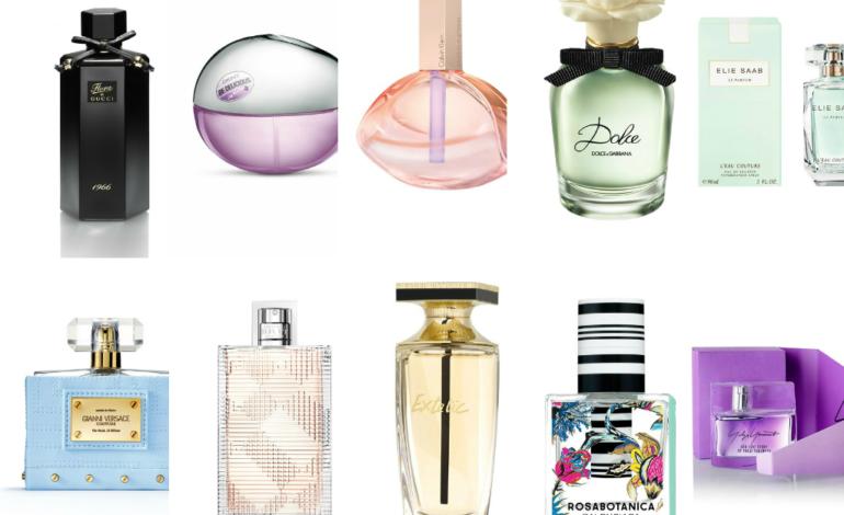 Cele mai iubite parfumuri de primavara!