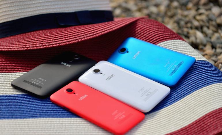 UTOK 450Q – un smartphone in culori
