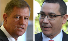 Klaus Iohannis cere demisia premierului Victor Ponta