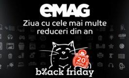 eMAG dezvaluie 10 dintre miile de oferte de care poti profita de Black Friday la eMAG