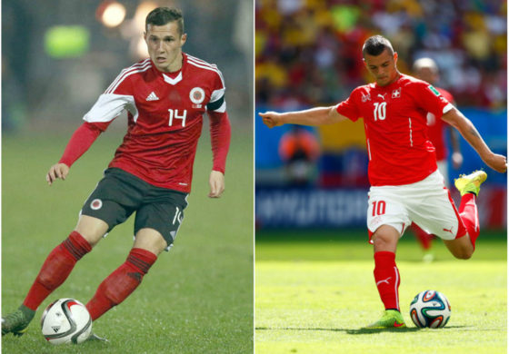 Meciurile zilei la EURO 2016: Albania – Elvetia, de la 16:00. Fratii Xhaka, fata in fata. Echipele de start. Urmeaza Tara Galilor – Slovacia si Anglia – Rusia