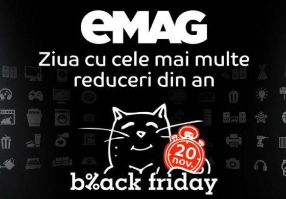 Catalog eMAG Black Friday 2017 – Vezi reducerile