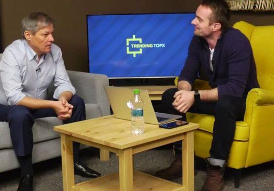 Dacian Ciolos, primul interviu acordat de un premier unui vlogger
