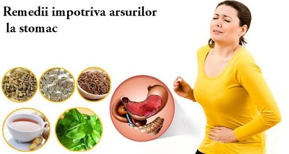 Metode de a ameliora arsurile la stomac