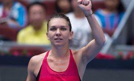 Simona Halep este noul număr 1 mondial, după ce a învins-o pe Jelena Ostapenko în semifinale la Beijing