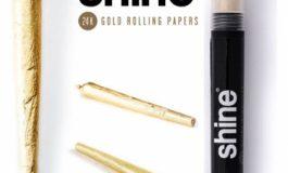 Foite de aur pentru fumatori – Blunt Shine Aur 24K Prerulat