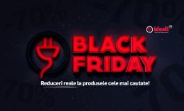 Black Friday la Ideall.ro: electrocasnice ieftine, cele mai căutate mărci