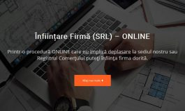 Înființare Firmă (SRL, SRL-D sau PFA) Online - Fara deplasari, fara stat la cozi si fara alte batai de cap