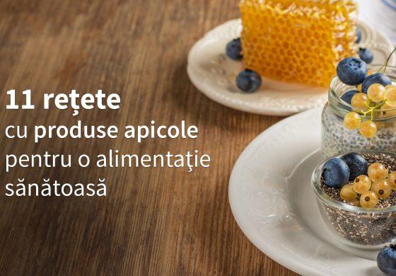 11 Reţete cu produse apicole pentru o alimentaţie sănătoasă