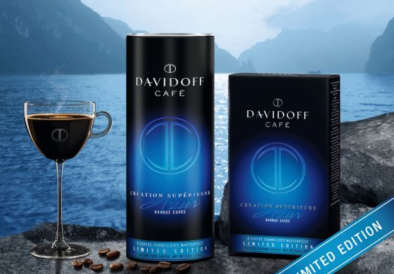 Lasa-ti simturile sa se scufunde in gustul luxului, cu Davidoff Café Création Supérieure Azur